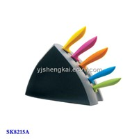 6pcs Kitchen Knife Set in PP Handle
