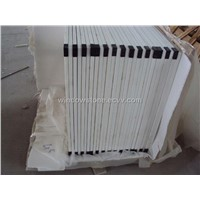Artificial White Marble Tile, Crystal White Marble Tile