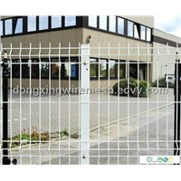 Colored Wire Mesh Fence