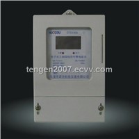 1 Three-Phase Electronic Prepaid Watt-Hour Meter (DTSY1666)