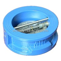 Double Disc Butterfly Check Valve