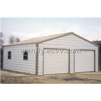 Double Steel Garage
