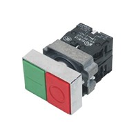 Double Key Button Switch  (KB2-BL8325)