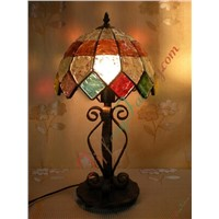 Encaustic Brick Lamp (1229)