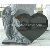 Granite Monuments, Tombstones, Memorials with Children Angel Carving