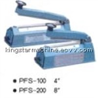 Hand pressing sealing machine