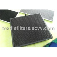 Honeycomb-Shaped Activated Filter Screen