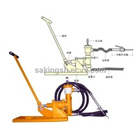 hand operated grouting pump