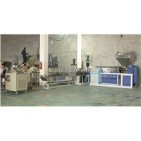 Plastic Extruding And Pelletizing Machine