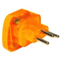 Switzerland Plug Adapter (Grounded, Inlay)(WASvs-11A.O.YL.L)