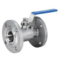 Whole Type Flange Ball Pneumatic Valve