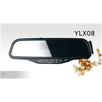 bluetooth rear view mirror with telephone book