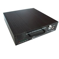 bus DVR with USB port for backup videos