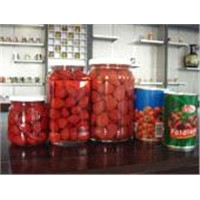 canned sttrawberries