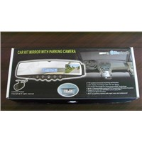 car kit bluetooth handsfree rearview mirror