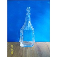 Flint Glass Bottle