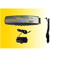 handsfree music carkit rearview