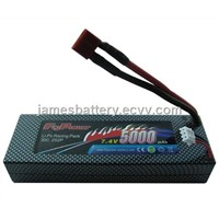 RC Battery 7.4V 5000MAH 30C