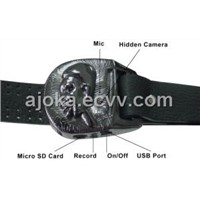 Ajoka Obaba Buckle Camera DVR a fashionable Belt buckle with Hidden Camera