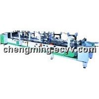 Automatic Clear Plastic(PVC,PET,PP) Box Folder Gluing Machinery