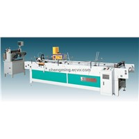 One Side Gluing Plastic Box Making Machine