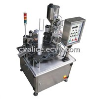 Rotary Type Cup Filling Machine and Sealing Machine