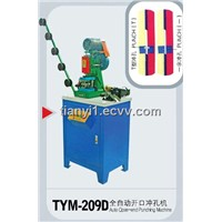 Auto Zipper Open-End Punching Machine