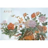 Flower Carving Stone