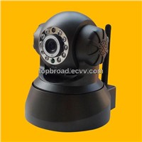 WiFi IR IP PTZ Camera Audio Surveillance Equipment with Two-Way Audio Remote Control