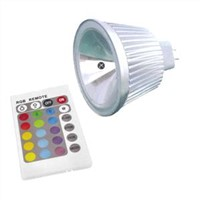 12V 5W RGB MR16 LED Spotlight Bulb