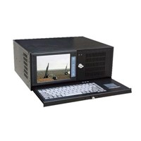 "4u Rackmount 8"" LCD Industrial Workstation IEC-808E"