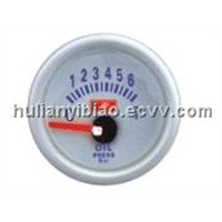 52mm LED Oil Pressure Gauge