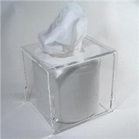 Acrylic  Tissue Holder