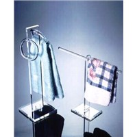 Acrylic towel holder