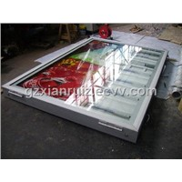 Aluminium Wall Mounted Scrolling Sign