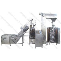 Automatic Bean Sprout Packaging Machine Line