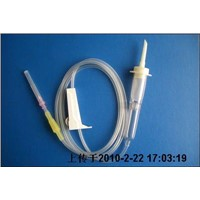 Double Drip Chamber Blood Transfusion Set (BT102)