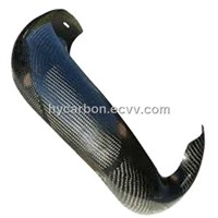 Carbon Fiber Ktm Pipe Guard
