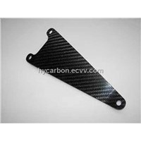 Carbon Fiber Suzuki Pipe Bracket