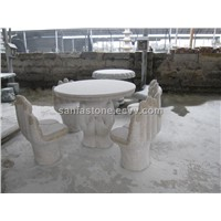 Chinese Park Stone Furniture