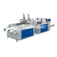 DFHQ-350*2/450*2 Full Automatic High Speed T-Shirt Bag Making Machine