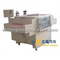 Double Spray Etching Machine