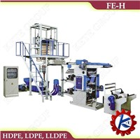 FE-H Model Film Blowing With Flexographic Printing Machine