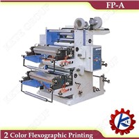 FP-A Model Two-Color Flexographic Printing Machine