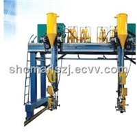 GANTRY STYLE BOX COLUMN WELDING MACHINE MODEL NO.LMHA-40000