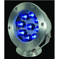 LED Underwater Light IP65 - 50Hz-60Hz Blue