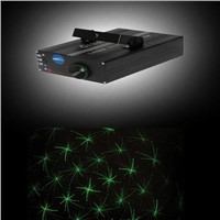 30mw Twinkling Starts-Stage / Pub / Green Laser Light-Step Motor Laser Series (S13)