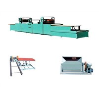 Light weight glazed tile making machine