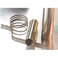 Nickel titanium alloy spring