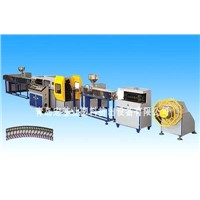 PVC Screw Thread Colored Plastic Pipe Production Line